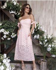 Платья ISSA PLUS 12053  M розовый от Issaplus