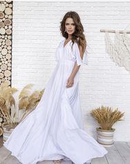 Платья ISSA PLUS 12064  S белый от Issaplus