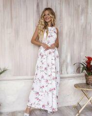 Платья ISSA PLUS 12051  L белый от Issaplus