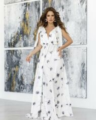 Платья ISSA PLUS 12063  M белый от Issaplus