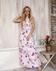 Платья ISSA PLUS 12056  M розовый от Issaplus