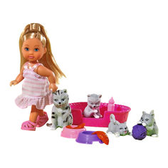Кукла Steffi & Evi love Эви с котятами (5734191-1) от Будинок іграшок