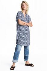 Платье H&M XAZ057161QURA 32 Темно-синее с белым (DD2000002044079) от Rozetka