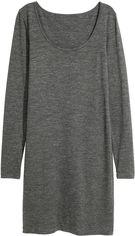 Платье H&M XAZ160454TCSA S Серое с темно-серым (DD2000003935680) от Rozetka