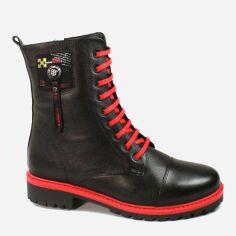 Акция на Ботинки Molly Bessa 428-0903-20 37 Черные (2000000385563) от Rozetka