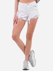 Акция на Джинсовые шорты Remix A63-2 L Белые (2950006530095) от Rozetka
