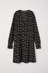Платье H&M XAZ111347TEVO 34 Черное (DD2000002178958) от Rozetka