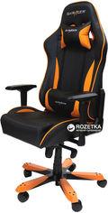 Кресло для геймеров DXRacer King OH/KS57/NO (чёрное/оранжевые вставки) (62726) от Rozetka