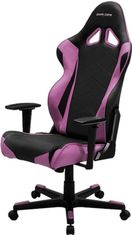 Кресло для геймеров DXRacer Racing OH/RE0/NP (чёрное/розовые вставки) (63367) от Rozetka