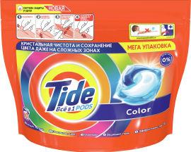 Капсулы для стирки Tide Все-в-1 Color 60 шт (8001841583464) от Rozetka