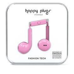 Happy Plugs Earbud Plus Pink от SportsTerritory