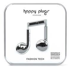 Happy Plugs Earbud Plus Silver от SportsTerritory