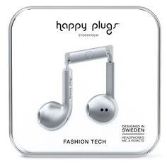 Happy Plugs Earbud Plus Space Grey от SportsTerritory
