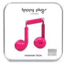 Happy Plugs Earbud Plus Cerise от SportsTerritory