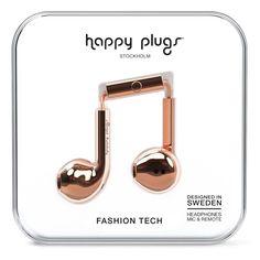 Happy Plugs Earbud Plus Rose Gold от SportsTerritory