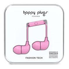 Happy Plugs In Ear Наушники Розовые от SportsTerritory