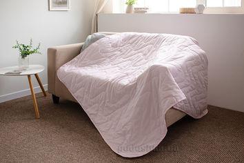 Покрывало-одеяло с льняным наполнителем летнее SoundSleep Pink 175х205 см от Podushka