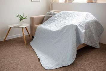 Покрывало-одеяло с льняным наполнителем летнее SoundSleep Blue 175х205 см от Podushka