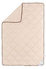 Акция на Одеяло шерстяное демисезонное SoundSleep Soft Dreams кремовое 172х205 см от Podushka