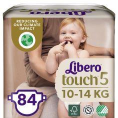 Набор подгузников Libero Touch 5 (10-14 кг), 84 шт. (2 уп. по 42 шт.) от Pampik
