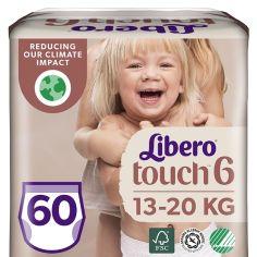 Набор подгузников-трусиков Libero Touch Pants 6 (13-20 кг), 60 шт. (2 уп. по 30 шт.) от Pampik