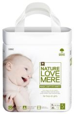 Подгузники-трусики NatureLoveMere Magic Soft Fit ХL (11-14 кг), 20 шт. от Pampik