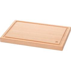 Доска для нарезки деревянная прямоугольная Wooden Lunasol 593012 от Podushka