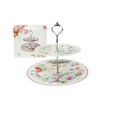 Фруктовница двухъярусная S&T Английский сад 3084-08  дизайн #1 от Podushka