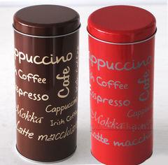 Банка для кофе Kesper G38201 круглая  цвет красный от Podushka