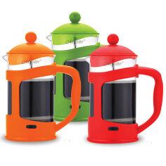 Френч-пресс для чая и кофе Maestro 0,8 л MR 1665  цвет зеленый от Podushka