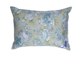Подушка 50% пуха Карина Billerbeck голубые цветы 50х70 см вес 800 г от Podushka