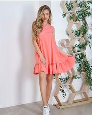Платья ISSA PLUS 11715  XL коралловый от Issaplus