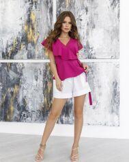 Блузы ISSA PLUS 12045  M фиолетовый от Issaplus