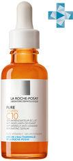 Акция на Сыворотка-антиоксидант против морщин La Roche-Posay Pure Vitamin C10 для обновления кожи лица 30 мл (3337875660570) от Rozetka