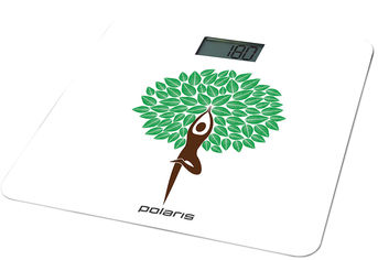 Весы напольные POLARIS PWS 1876DG Yogatree от Rozetka