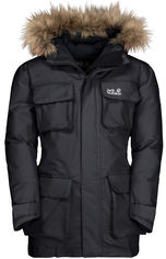 Пуховик Jack Wolfskin Ice Explorer Jacket Kids 1608201-6350 176 см Темно-серый (4060477301389) от Rozetka