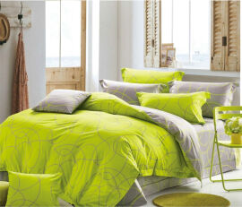 Акция на Комплект постельного белья MirSon Бязь 20-0005 Ornella 160х220 (2200001477483) от Rozetka