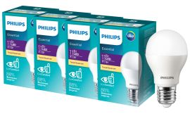 Светодиодная лампа Philips ESS LED Bulb 11 Вт E27 3000K (929001900287R) 4 шт. от Rozetka