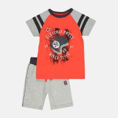 Костюм (футболка + шорты) Бемби KS597 134 см Красный с серым (06597011044.LX0) от Rozetka