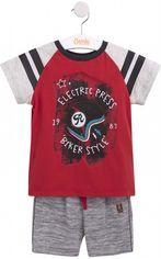 Костюм (футболка + шорты) Бемби KS597 122 см Красный с серым (06597011042.LX0) от Rozetka