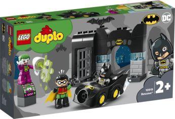 Акция на Конструктор LEGO DUPLO Super Heroes Пещера Бэтмена 33 детали (10919) от Rozetka
