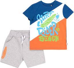Костюм (футболка + шорты) Бемби КС618 140 см Синий с серым (06618012245.8X0) от Rozetka