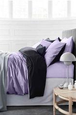 Комплект постельного белья MirSon Сатин Lavanda 3820+0055 160х220 (2200001479456) от Rozetka
