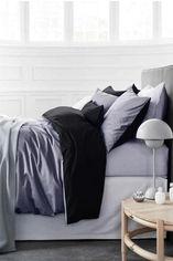 Комплект постельного белья MirSon Сатин Greyness 0251+0055 160х220 (2200001479258) от Rozetka