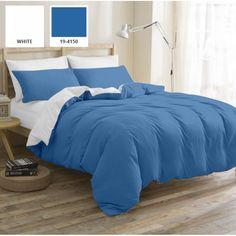Комплект постельного белья Mirson Pablo Blue 160х220 (2200001478268) от Rozetka