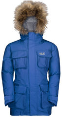 Пуховик Jack Wolfskin Ice Explorer Jacket Kids 1608201-1201 140 см Синий (4060477301198) от Rozetka
