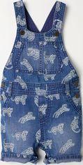 Полукомбинезон джинсовый H&M XAZ181079OSWQ 86 см Синий в узоры (2000003822799) от Rozetka