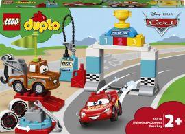 Конструктор LEGO DUPLO Машинки Гонки Молнии Маккуина 42 детали (10924) от Rozetka