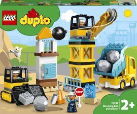 Конструктор LEGO DUPLO Town Сокрушительный шаровой таран 56 деталей (10932) от Rozetka