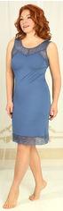 Ночная рубашка Violet Delux НС-М-75 XL Синяя (2000000047119) от Rozetka